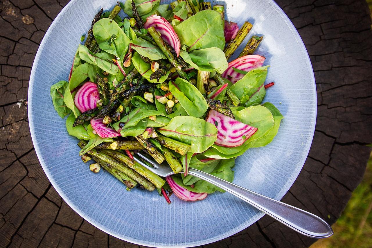 Chřestový salát - řepa